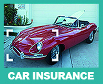 E type jaguar one of the classic cars which can be insured via Rollins Car Insurance solutions