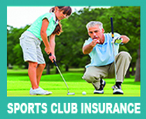 young girl playing golf with her dad-promoting discounts on Rollins sports member insurance solutions