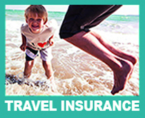 Rollins travel insurance solutions-pic of a child on the beach