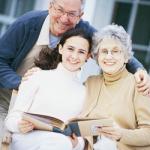 Retired couple planning inheritance