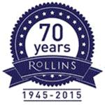 Rollins 70 year anniversary logo
